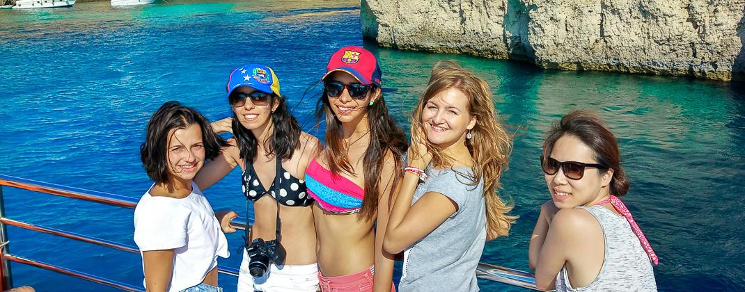 viagem de barco boat trip