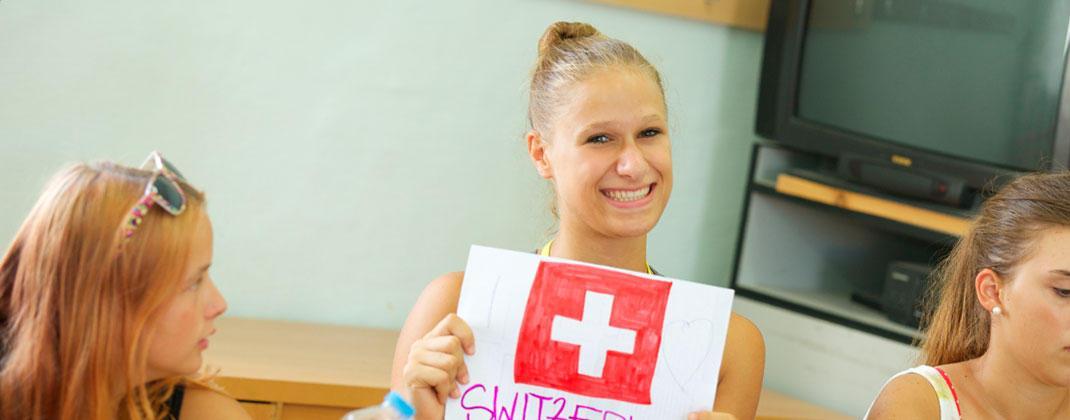 Estudante suiço