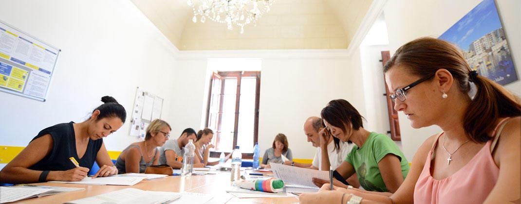 Escola de lingua inglêsa Malta