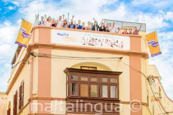 Escola de Língua Inglesa em St Julians, Malta.