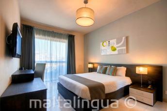 Hotel quarto de hóspedes prata, Malta