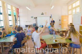 Verão sala de aula