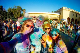 Festa das cores Holi em St Julian's