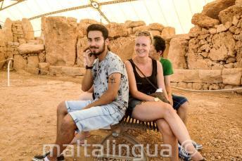 Visita guiada de templo antigo em Malta