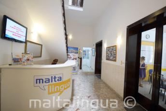 Malta Escola de inglês recepção