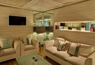 Sala de estar em Juliani hotel