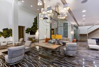 Lobby e area de estar em Hotel Valentina, St Julians