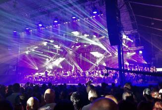 Rockestra rock show em Malta
